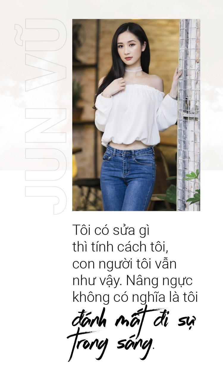 Jun Vu: 'Nang nguc khong co nghia la toi danh mat di su trong sang' hinh anh 2