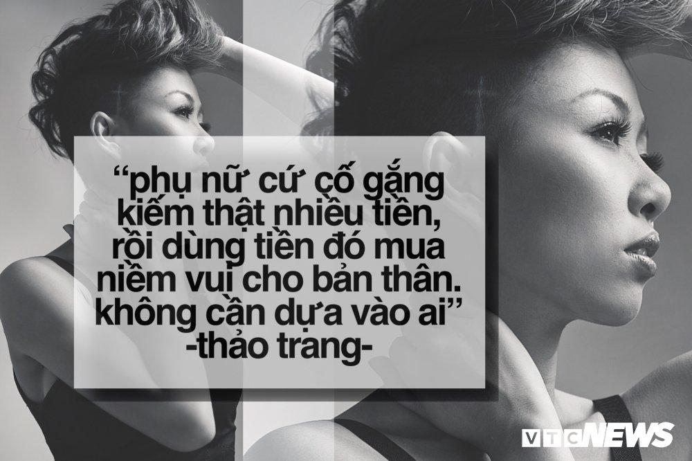 Thao Trang -  'Co nang tiec tung' tro thanh me bim sua the nao? hinh anh 2