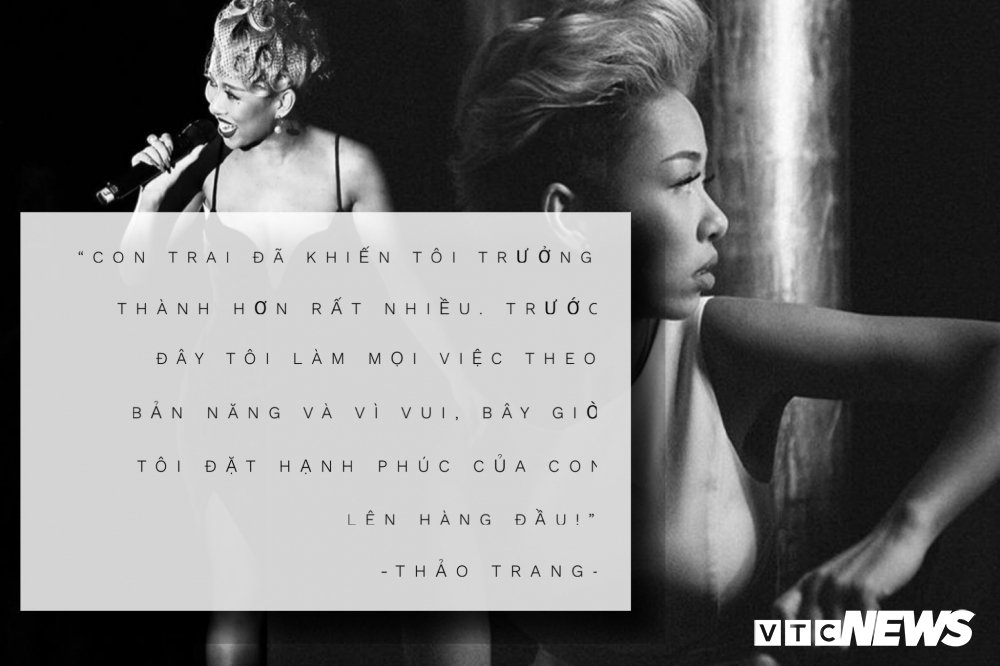 Thao Trang -  'Co nang tiec tung' tro thanh me bim sua the nao? hinh anh 3