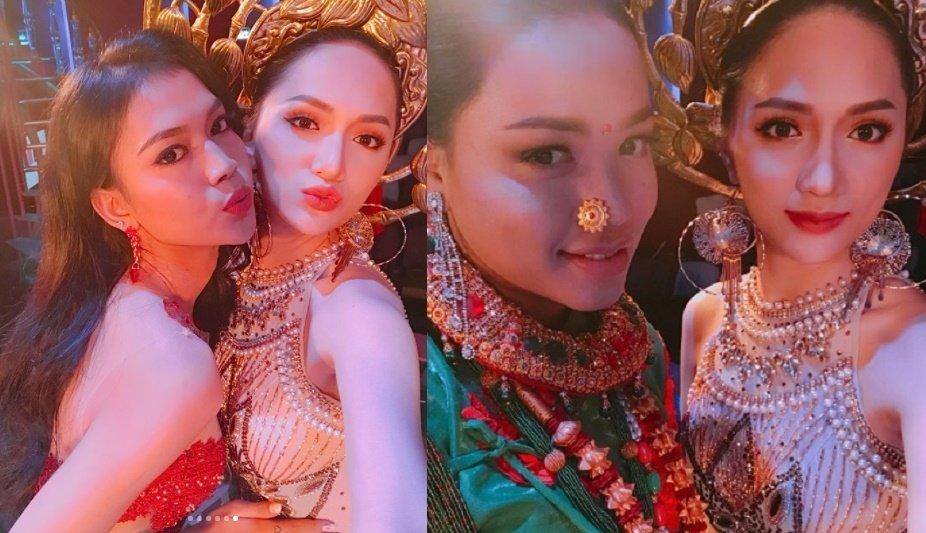 Hanh trinh den vuong mien cua Huong Giang tai 'Hoa hau Chuyen gioi Quoc te 2018' hinh anh 6