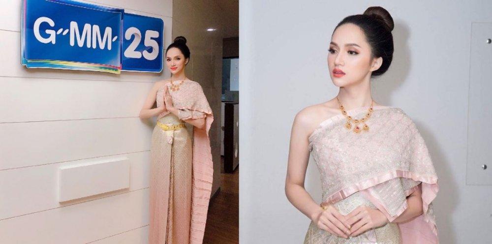 Hanh trinh den vuong mien cua Huong Giang tai 'Hoa hau Chuyen gioi Quoc te 2018' hinh anh 8