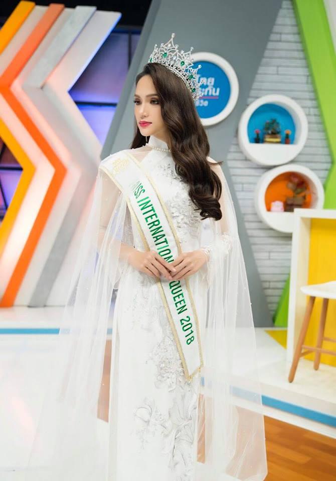 Huong Giang muon to chuc thi 'Hoa Hau Chuyen gioi' tai Viet Nam hinh anh 1