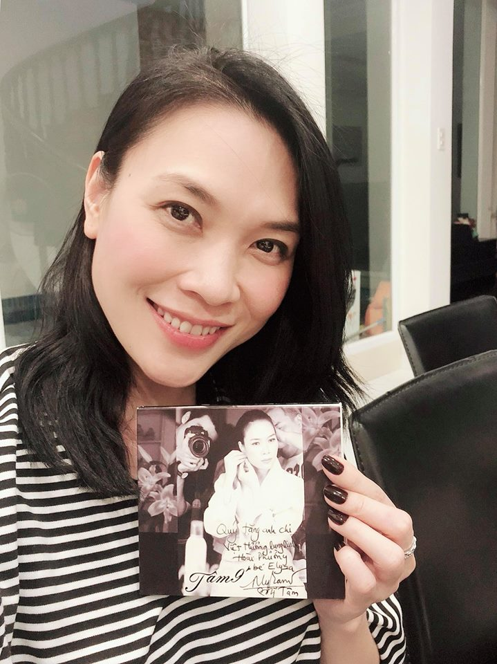 Bi Viet Huong gian doi vi khong tang album, My Tam noi gi? hinh anh 1