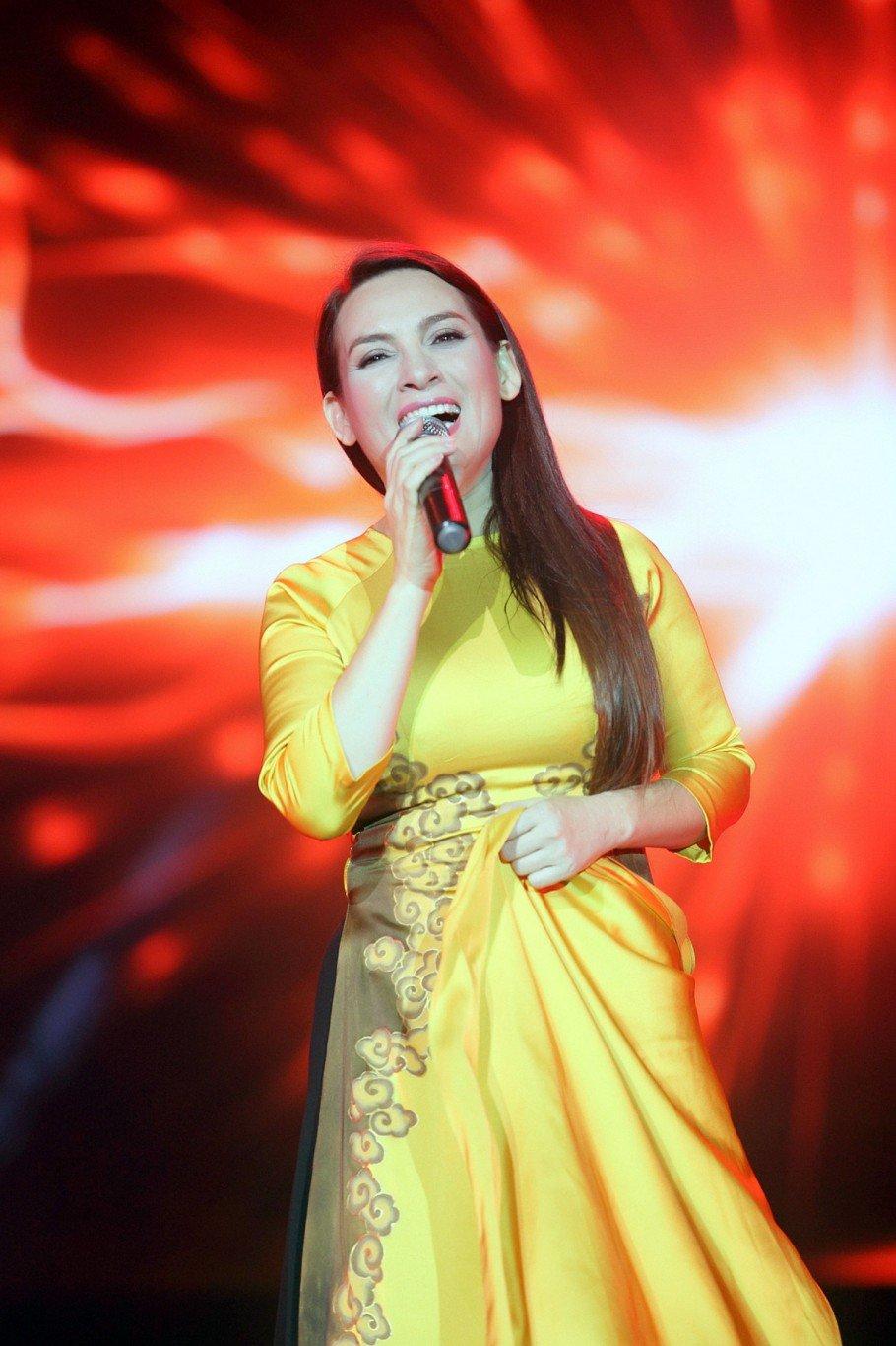 Phi Nhung, Duy Manh, Ha Ho hoang hot khi bi khan gia lao len san khau tan cong hinh anh 1