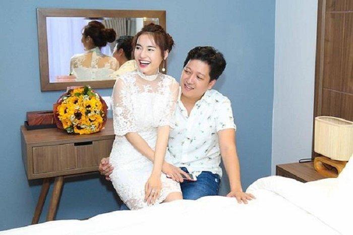 Truong Giang, Thuy Tien so huu biet thu dat do, sang trong hinh anh 12