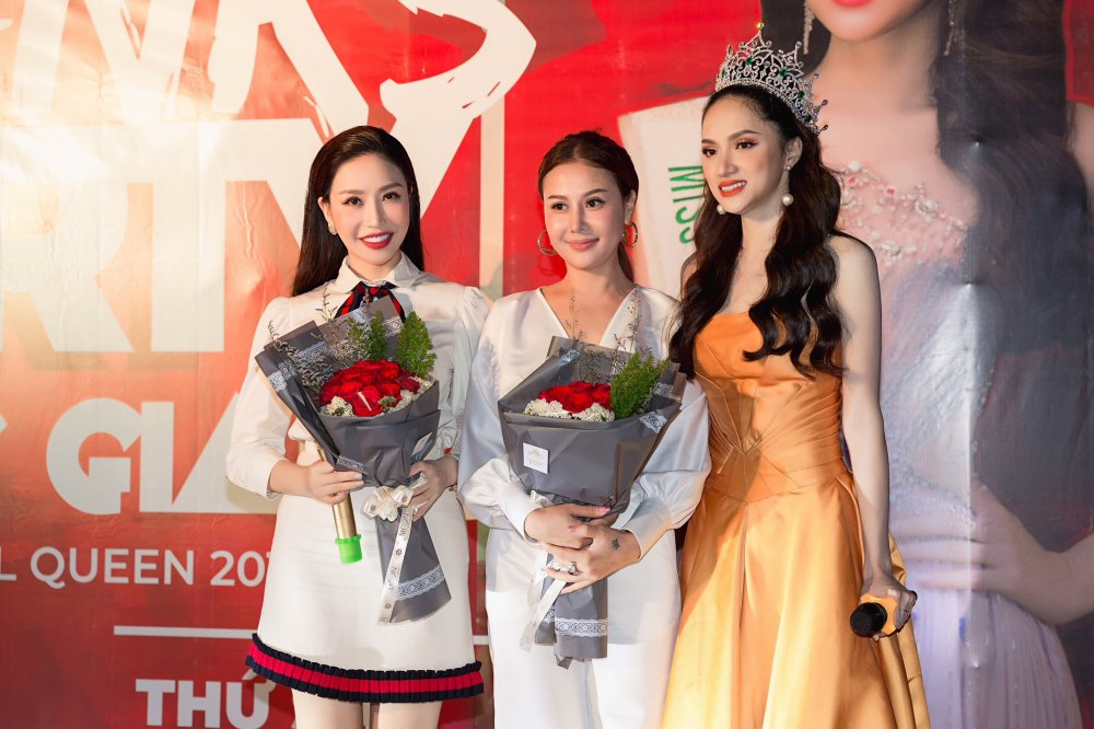Noi la lam, Huong Giang mang cuoc thi 'Hoa hau Chuyen gioi' den Viet Nam hinh anh 4