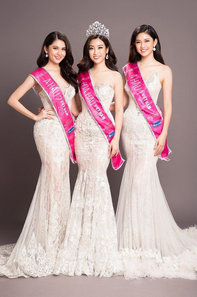 Top 3 Hoa hau Viet Nam 2016 do ve goi cam, khoe duong cong nong bong hinh anh 1