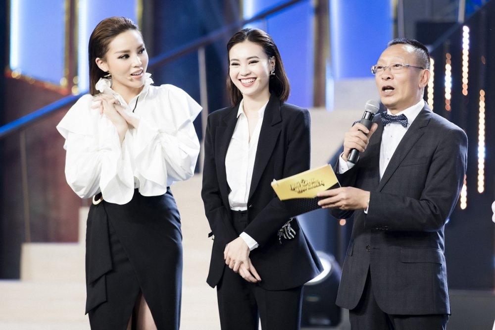 Hoa hau Ky Duyen phan khich khi duoc lam viec voi MC Lai Van Sam hinh anh 3