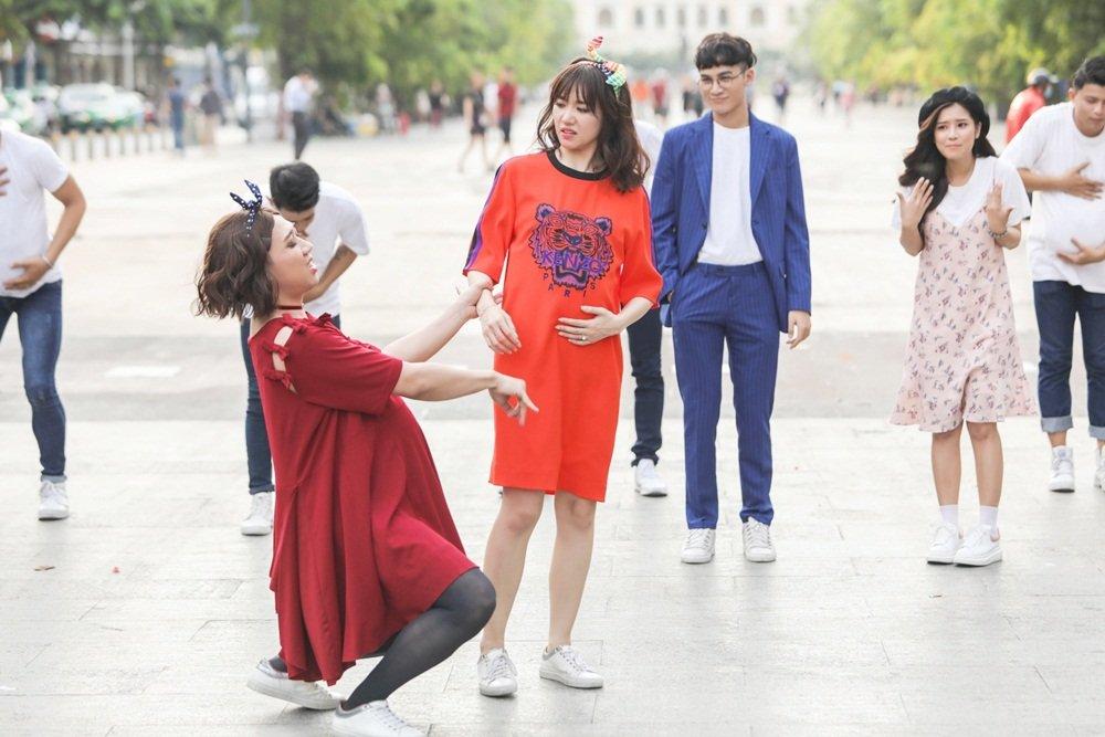 Hari Won bi Tran Thanh chiem song, roi vao tinh huong do khoc do cuoi hinh anh 4