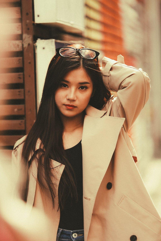 Hoang Yen Chibi tu lam stylist, khoe nhan sac trong veo tai Han Quoc hinh anh 7