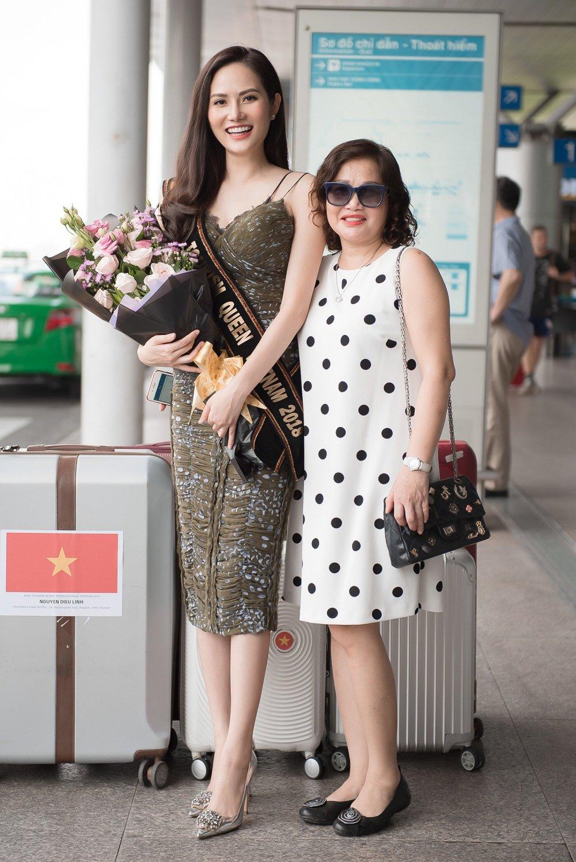 Dieu Linh mang hon 30 bo trang phuc du thi 'Nu hoang Du lich Quoc te 2018' hinh anh 4