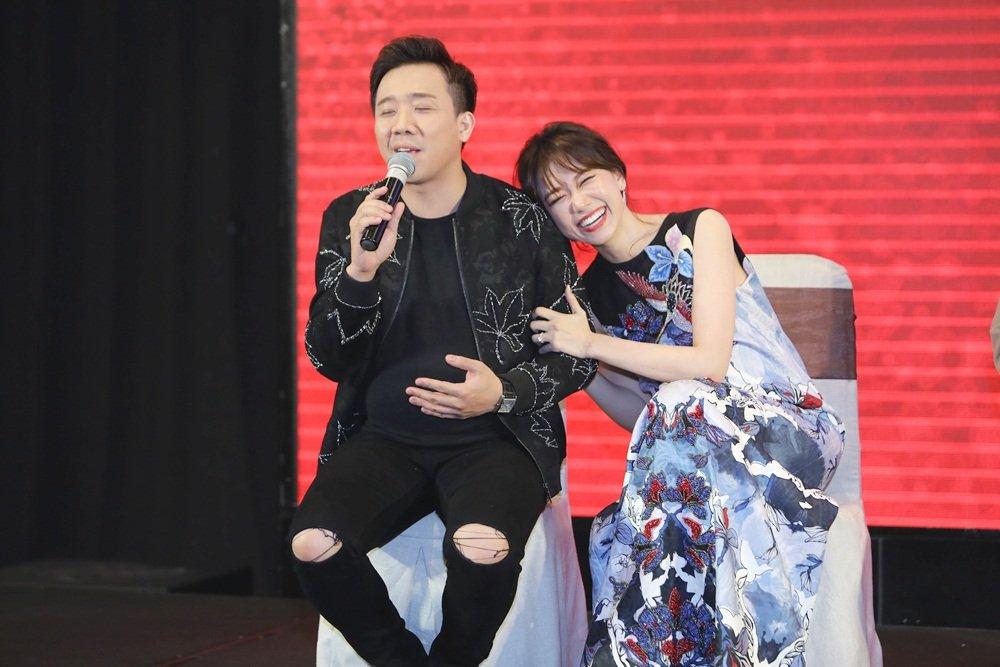 Hari Won va Tran Thanh chia se trai nghiem trong lan dau mang bau hinh anh 2