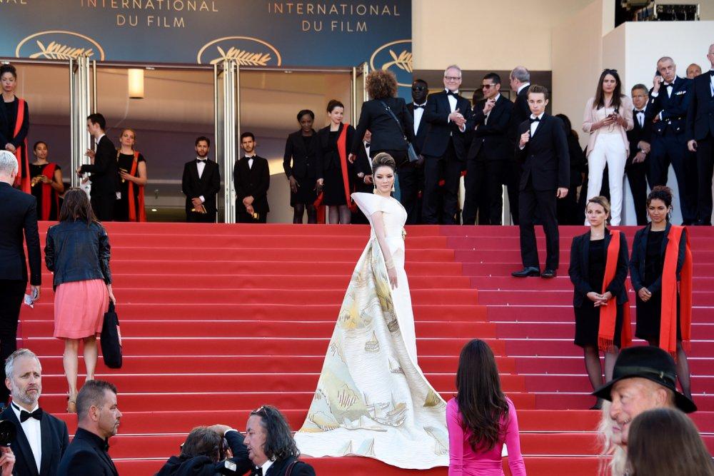 Ly Nha Ky mang vinh Ha Long len tham do Cannes 2018 hinh anh 4