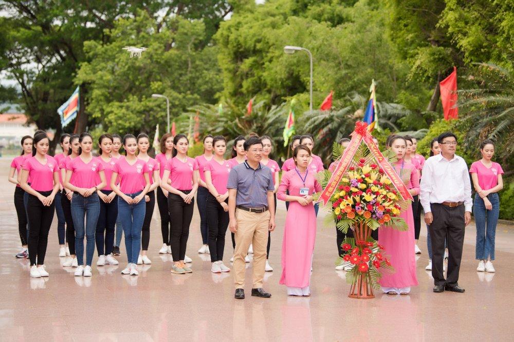 Top 30 thi sinh Hoa hau Viet Nam 2018 di quyen tren dat vo Binh Dinh hinh anh 1