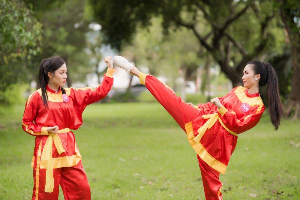 Top 30 thi sinh Hoa hau Viet Nam 2018 di quyen tren dat vo Binh Dinh hinh anh 3
