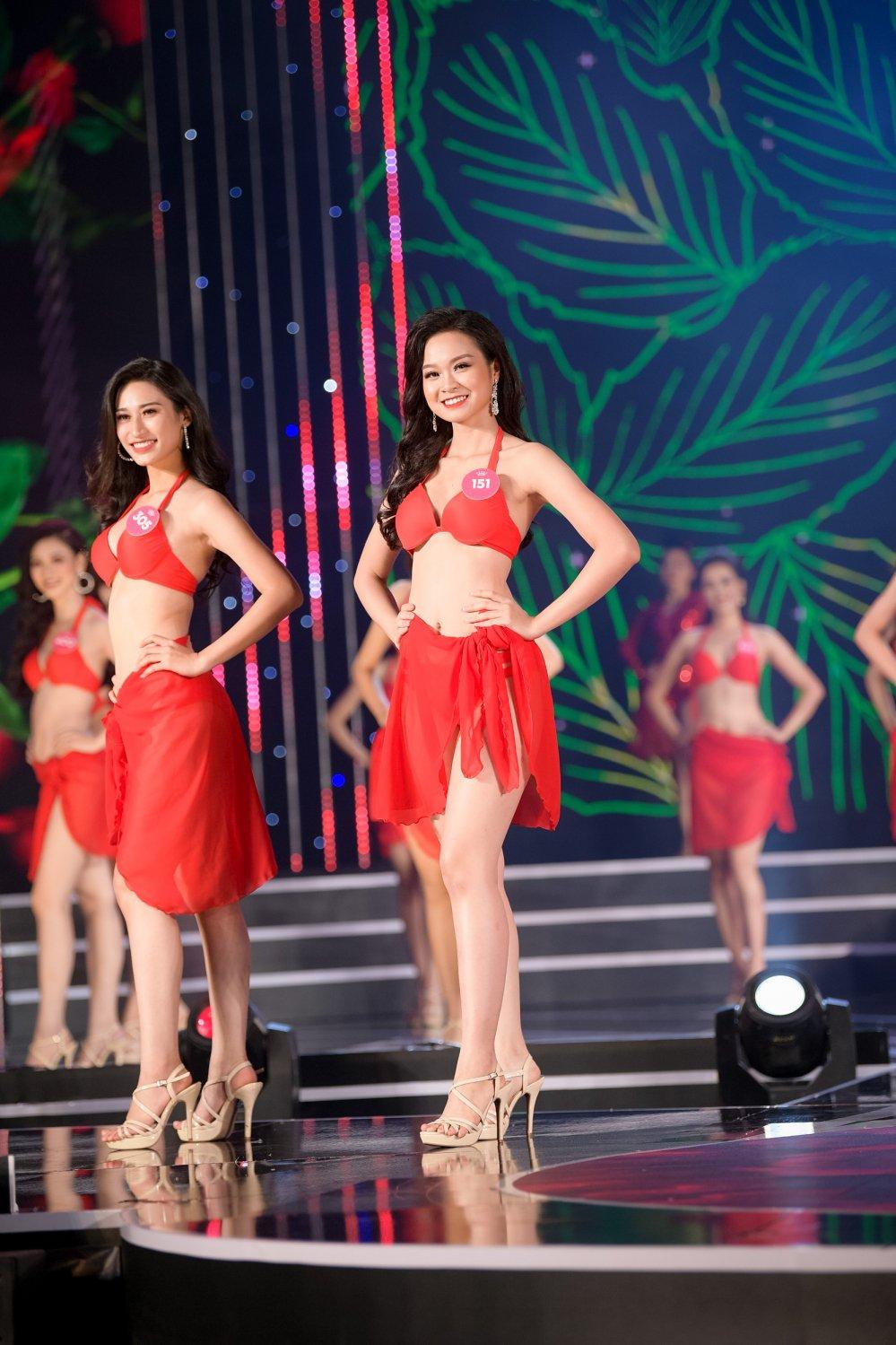 Lo dien 19 thi sinh dau tien buoc vao chung ket 'Hoa hau Viet Nam 2018' hinh anh 10