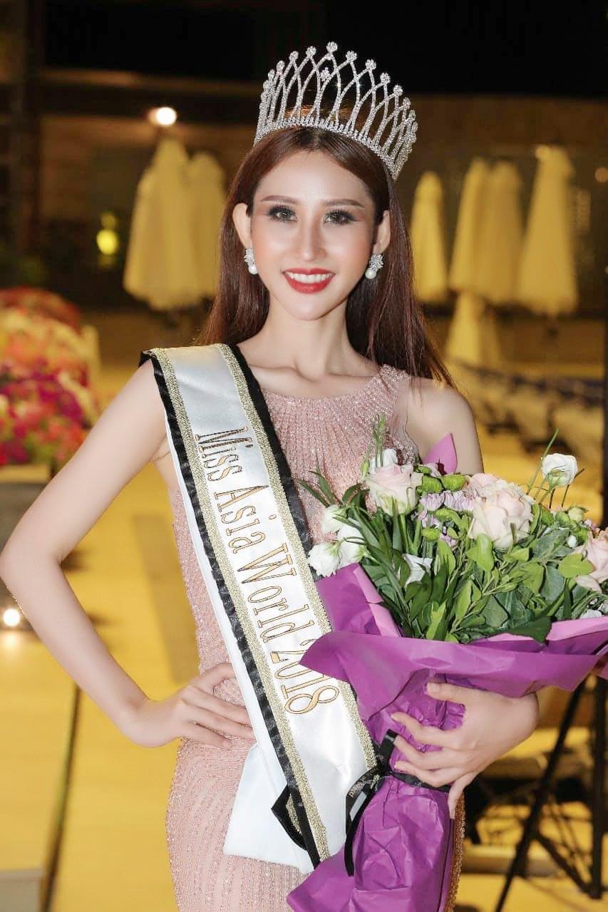 Chi Nguyen dang quang 'Hoa hau Chau A The gioi 2018' hinh anh 2
