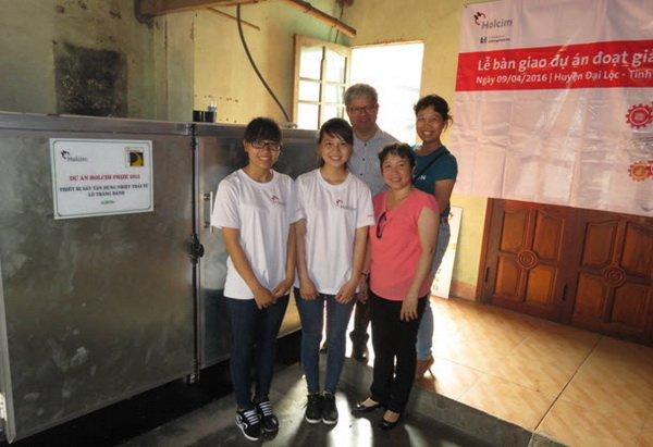 Du an dat giai nhat Holcim Prize 2015 ung dung thanh cong tai Quang Nam hinh anh 1