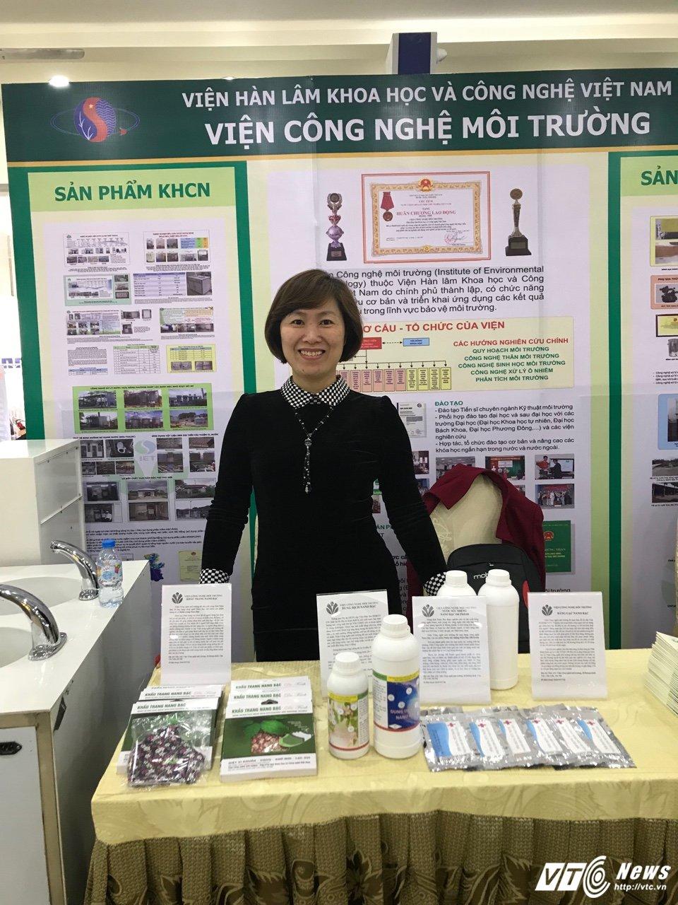 TS Tran Thi Ngoc Dung: Nha khoa hoc nano bac hinh anh 1