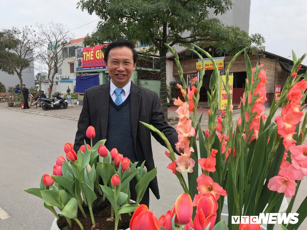 "Hoa cong nghe cao ""made in Vietnam"" phuc vu nhu cau khach hang dip Tet nguyen dan hinh anh 2"