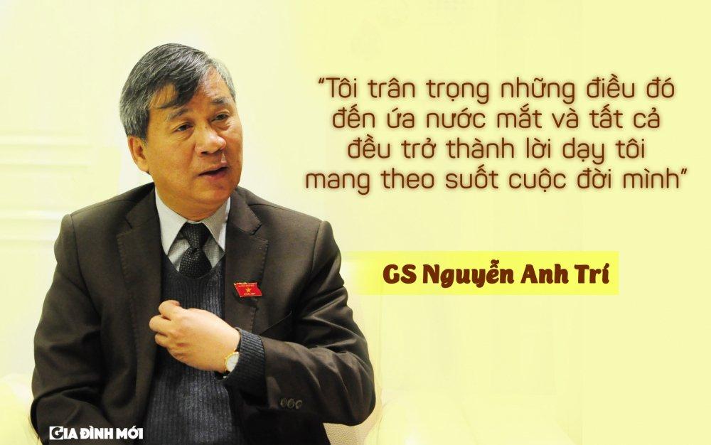 GS Nguyen Anh Tri: 'Phan thuong cao quy nhat la tinh cam chan thanh cua benh nhan, hoc tro, nhan vien' hinh anh 3