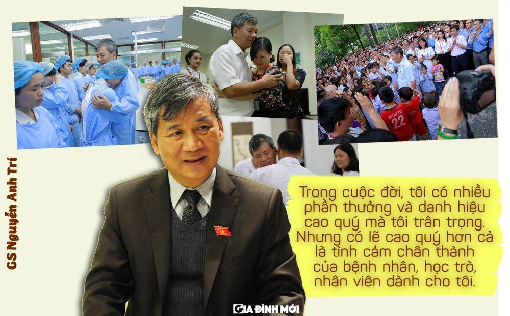 GS Nguyen Anh Tri: 'Phan thuong cao quy nhat la tinh cam chan thanh cua benh nhan, hoc tro, nhan vien' hinh anh 7