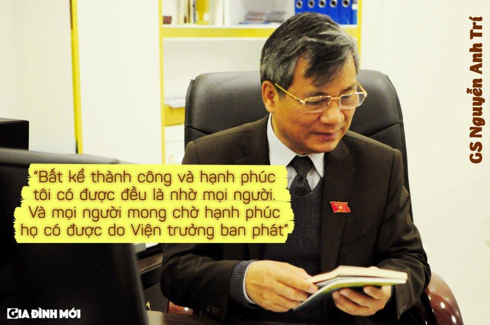 GS Nguyen Anh Tri: 'Phan thuong cao quy nhat la tinh cam chan thanh cua benh nhan, hoc tro, nhan vien' hinh anh 8