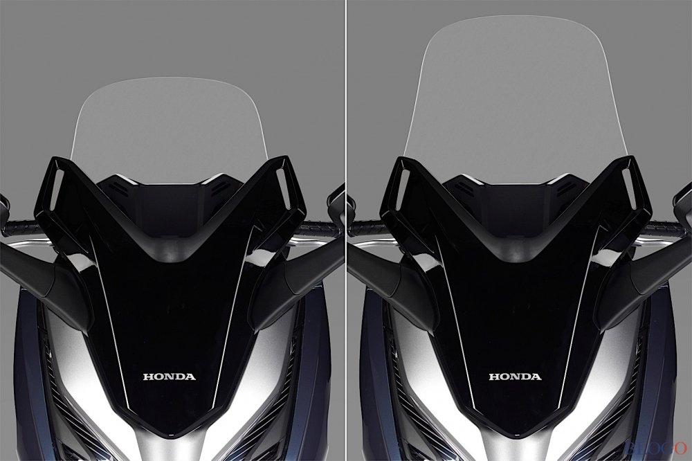 Honda he lo xe tay ga cao cap Forza 300 tai Italy hinh anh 3