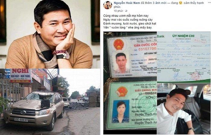Nhung dieu it biet ve doanh nhan Nguyen Hoai Nam tai tro 240 trieu dong cho tai xe be lai cuu nguoi hinh anh 1