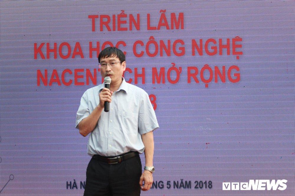 Trien lam Khoa hoc Cong nghe NACENTECH mo rong 2018 hinh anh 3