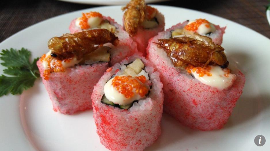 Trung Quoc san xuat sushi va thit tu trang trai hang ty con gian nuoi hinh anh 5