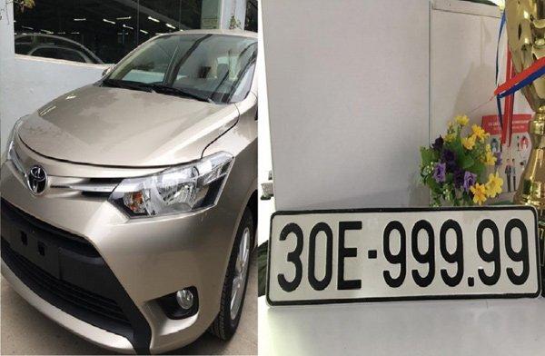 Boc duoc bien 'ngu quy', Toyota Vios ban gap 3 lan gia mua hinh anh 1