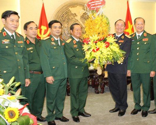 Bo Chinh tri quyet dinh viec thang quan ham Dai tuong hinh anh 1
