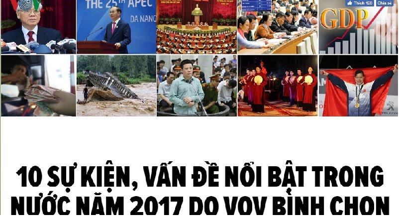 10 su kien, van de noi bat trong nam 2017 do VOV binh chon hinh anh 2