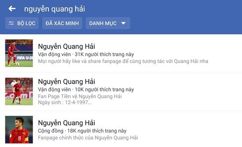 Phat hien gan 200 tai khoan gia Facebook cau thu, HLV U23 Viet Nam hinh anh 1