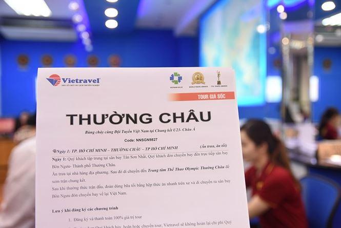 Thue chuyen co toi Trung Quoc xem chung ket U23 Viet Nam hinh anh 1