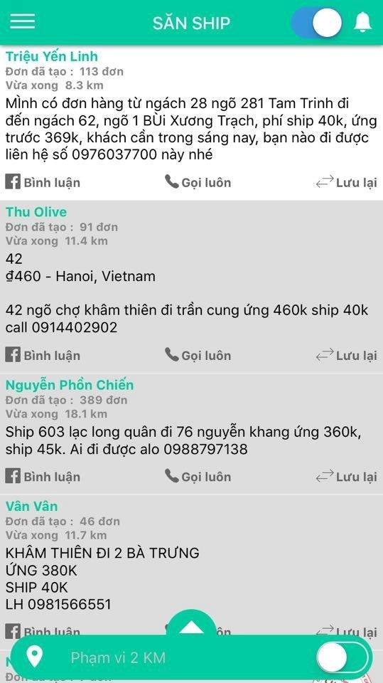Taxi het gia 150.000 dong cho 3 km, shipper 'chanh' khong nhan khach hinh anh 2