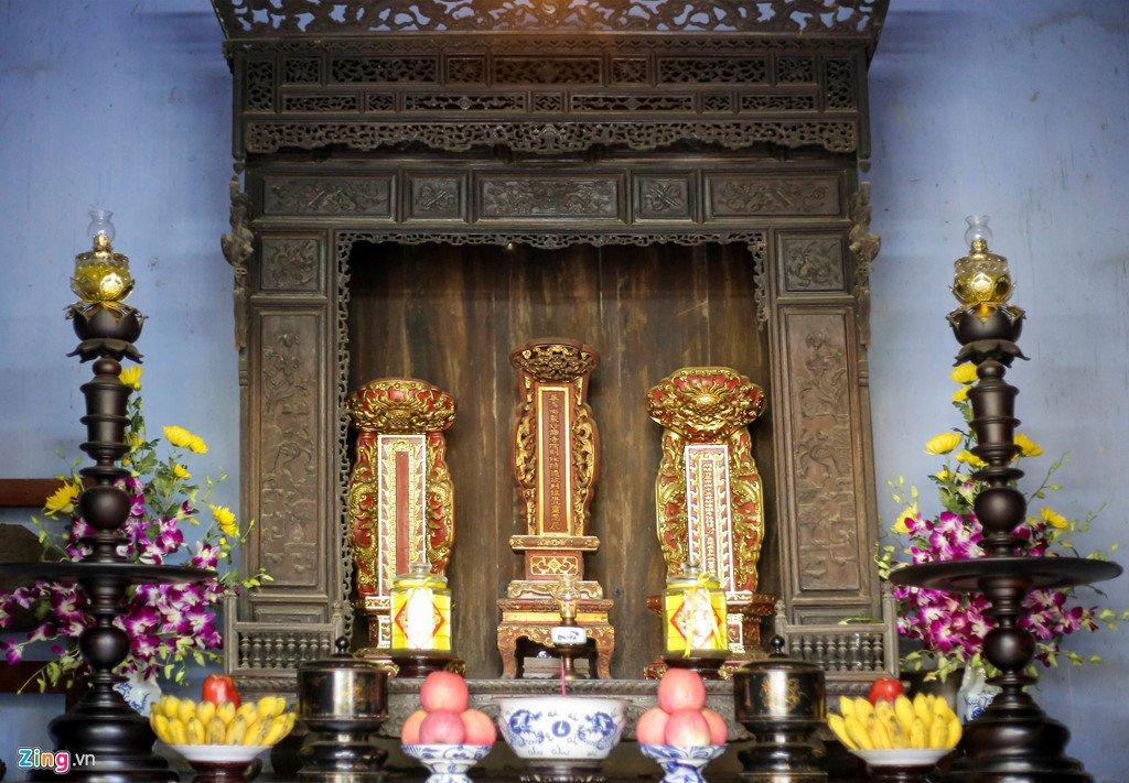 Kham pha ngoi chua co buc tranh tuong 9 con rong lon nhat Viet Nam hinh anh 10