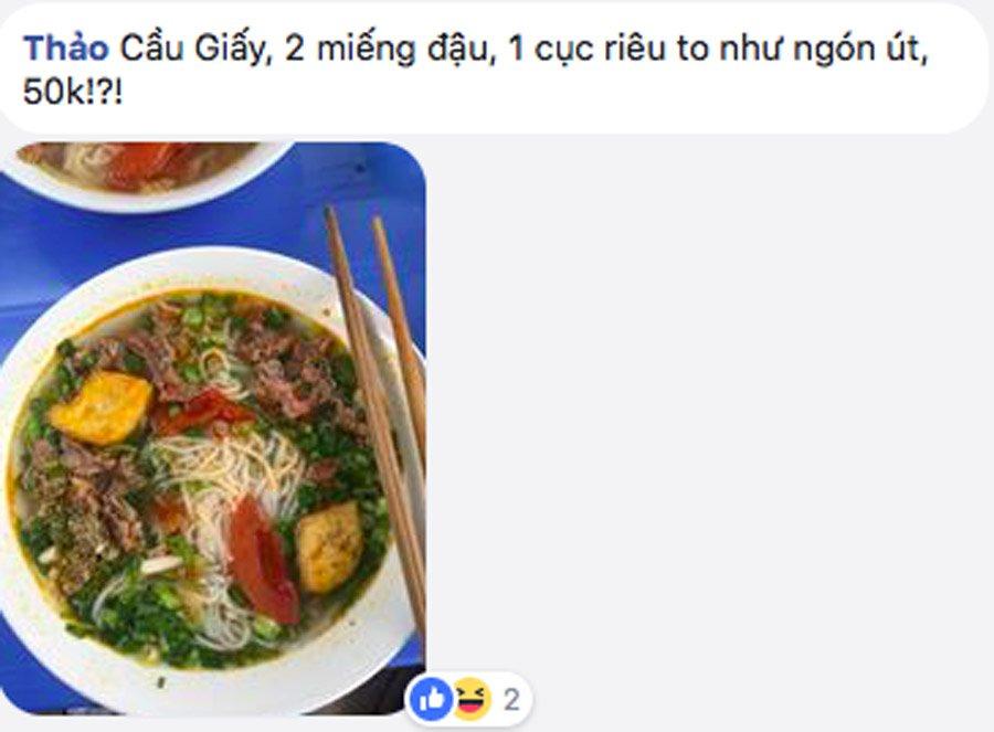 'Chat chem' dau nam: 150.000 dong/bat bun via he hinh anh 3