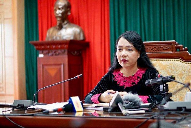 Bo truong Nguyen Thi Kim Tien du tieu chuan cong nhan giao su hinh anh 1