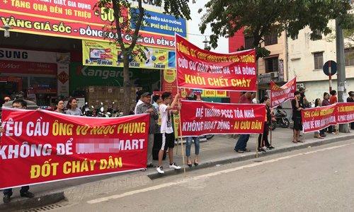 'Cang bang ron' bung phat o chung cu Ha Noi sau tham hoa chay Carina hinh anh 1