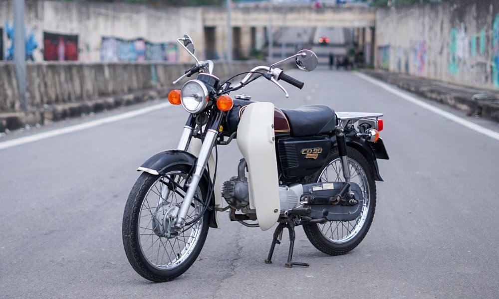 Honda Benly CD90 - xe 'zin' cua tay choi Ha thanh hinh anh 1