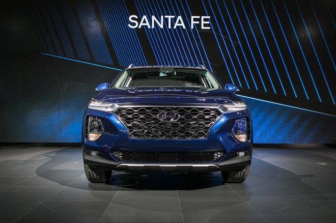 Hyundai Santa Fe 2019 chinh thuc di vao san xuat hinh anh 2
