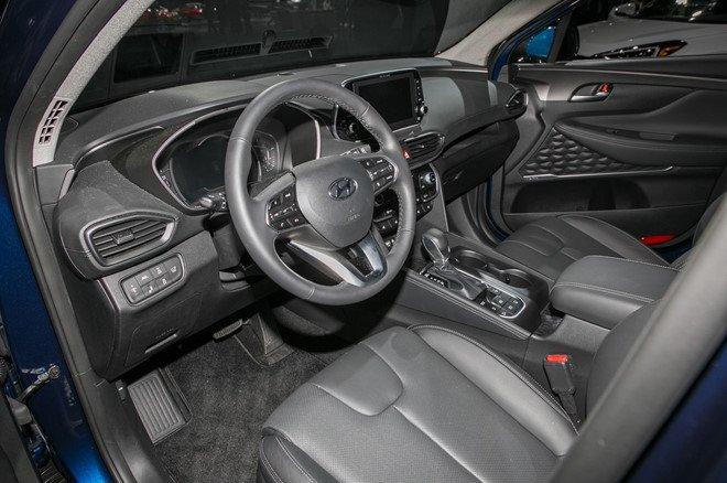 Hyundai Santa Fe 2019 chinh thuc di vao san xuat hinh anh 6