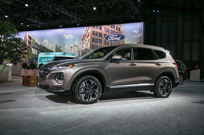 Hyundai Santa Fe 2019 chinh thuc di vao san xuat hinh anh 3