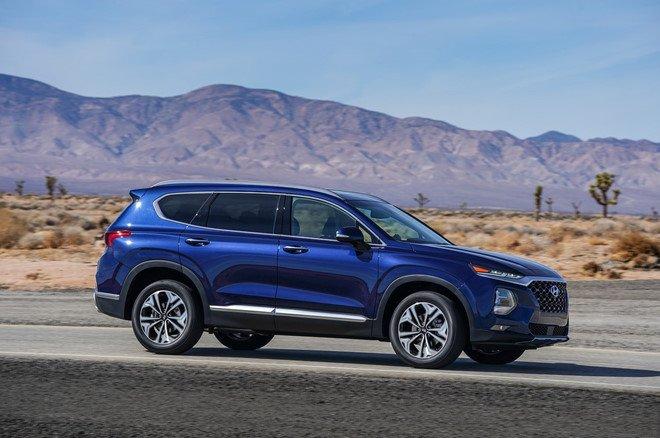 Hyundai Santa Fe 2019 chinh thuc di vao san xuat hinh anh 4