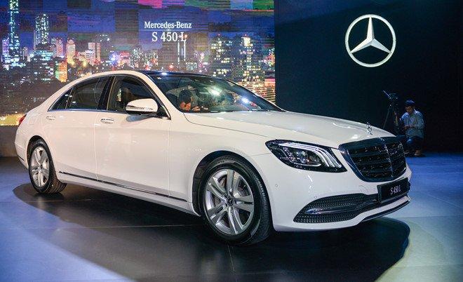 Mercedes S-Class 2018 ve Viet Nam, tao suc ep cho Audi A8, BMW 7-Series hinh anh 1