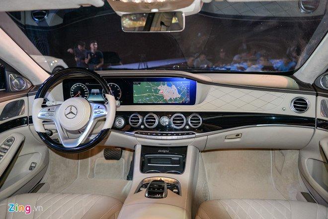 Mercedes S-Class 2018 ve Viet Nam, tao suc ep cho Audi A8, BMW 7-Series hinh anh 3