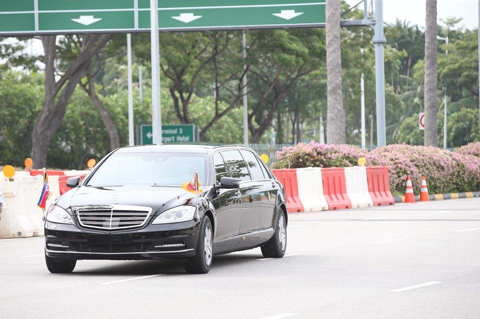 Soi can canh xe 'khung' Mercedes-Benz S600 dac trach cho ong Kim Jong Un tai Singapore hinh anh 9