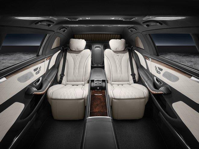 Soi can canh xe 'khung' Mercedes-Benz S600 dac trach cho ong Kim Jong Un tai Singapore hinh anh 6